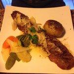 Delicious steak