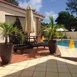 Chambre RDC côté piscine
