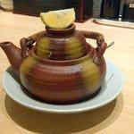 flavourful dobinmushi (tea pot soup)