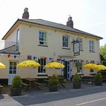 The Elsted Inn on a beautiful summer's day
