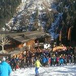 Small Apres ski bar