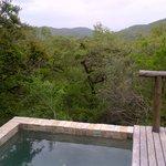 Privat splash pool