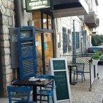 the artisan bakery in Bar Yohai street, Safed