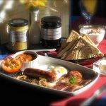 Breakfast at the Atlanta, a great Yorkshire treat !