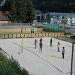 Recreational facilities - beachvolleyball & soccer field