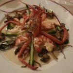 homard & sa bisque aux champignons
