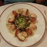 noix de Saint Jacques & risoto de légumes