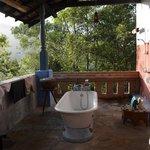 salle de bains très originale