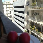 We were even given red eggs and candles to celebrate Greek Easter like a local