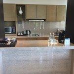 Kitchen in villa