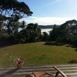 Kauri Room's deck