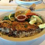 The Grilled Shrimp Platter
