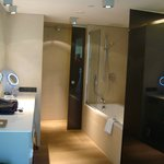 Amazing bathroom, THE best rainfall shower ever room for more than two!