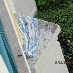 molded pool towel