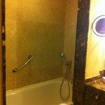 banyo küvet bölümü