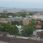 View of Fort Sumter and Harbor from my room