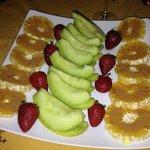 Frutta alla cannella