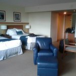 2 queen beds in suite