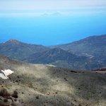 Monte Ferro mit Blick auf Isola di Salina