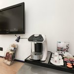 Illy espresso machine only for executive room