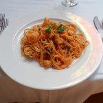 Spaghetti al Cognac