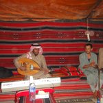 If you are lucky you will have some bedouin music ...