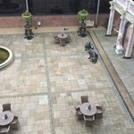 View from room - lovely peaceful courtyard