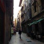 Casco Viejo,Jardines通りにある。