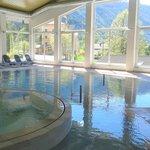 piscina del centro benessere