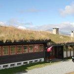 草葺きの屋根