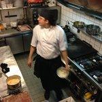 Tiny Kitchen at Prego