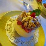 dessert du menu Winstub