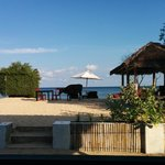 Zona exterior de playa