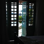 balcon de la, chambre avec hamac! trop bien!!!