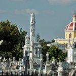The general spectacle of gravesites in Necrópolis Colón