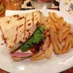 Questo e' metà sandwich!