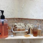 Bathroom products made with local honey! L&M heavily support local businesses.