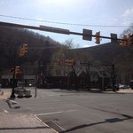 Quaint Train Station in center of Jim Thorpe