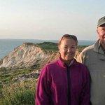 Near Gay Head Cliffs and Lighthouse
