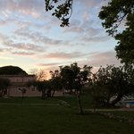 Masseria al tramonto