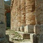 Säulendetails mit Verkarstung