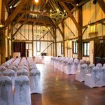 Ceremony in the Tithe Barn