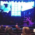 Rock of Ages stage before the show
