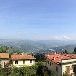 panorama dalla suite di casa Torrini