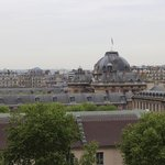 View from our Eiffel room in Hotel Eiffel Turenne