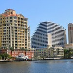Seeing Fort Lauderdale from the water.