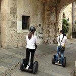 Segwaying in Cagliari