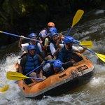 asyiknya air sungai Ayung
