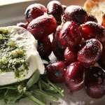 Burrata + Roasted Grapes