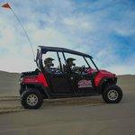 RZR in the dunes.